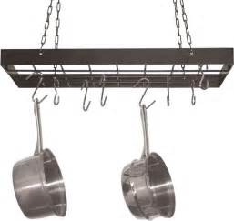 hanging pot rack hooks kitchen ceiling hanger storage