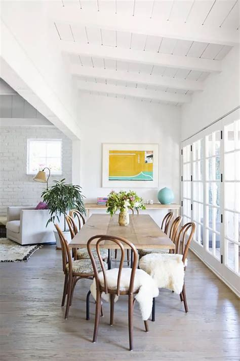 eclectic dining rooms  fox  chicago fashion