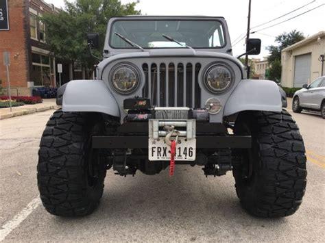jeep cj   fuel injected   sale  technical specifications description