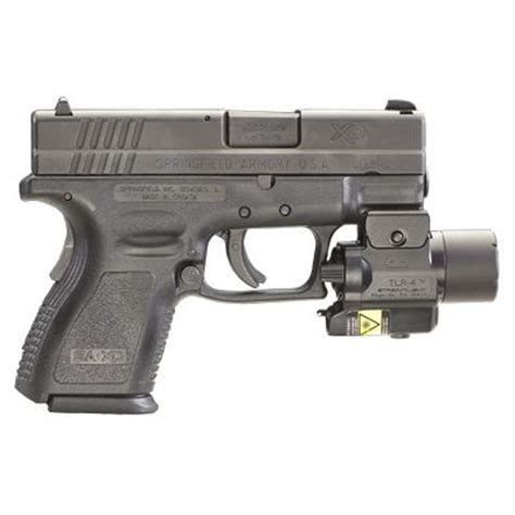 best tactical light and laser for an xd 40 subcompact