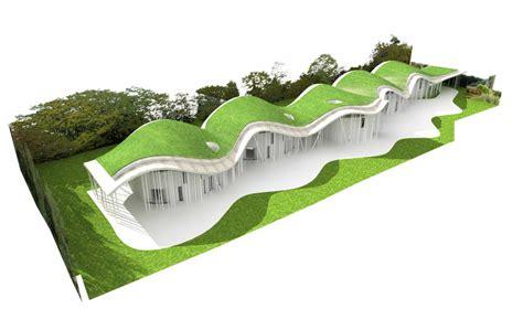 Berm House Plans wan park houses by ushida findlay architects in preston