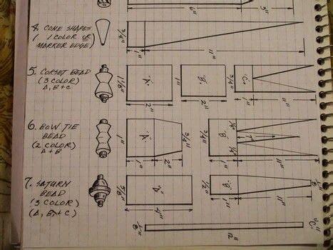 basic paper beadsinstructions     paper bead