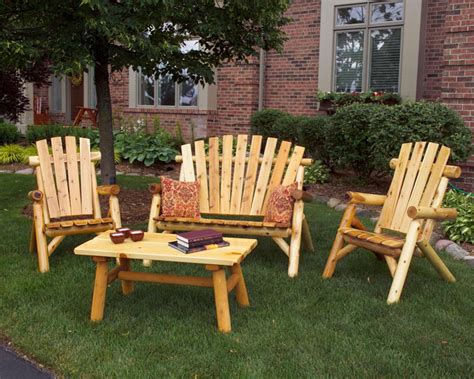 Outdoor Wood Patio Furniture Arbors Cedar Sheds Lawn Furniture In Chicagoland Rustic Fences