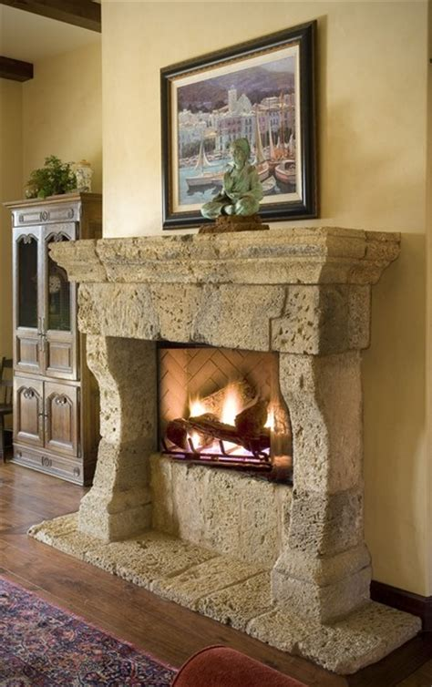 mediterranean living room with carpet stone fireplace in antique stone fireplace mantels mediterranean living