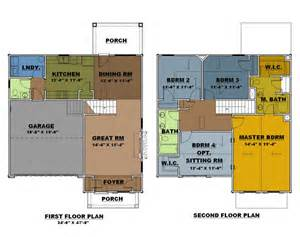 5 Bedroom 4 Bathroom House Plans floor plans connor place gated townhouse community in
