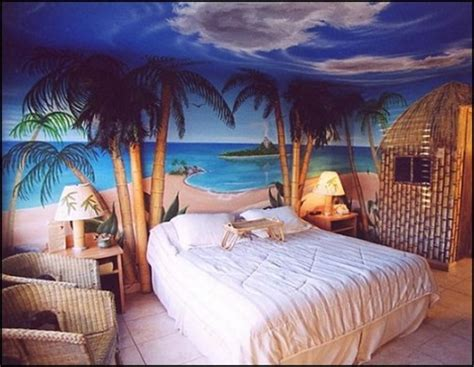 Tropical Bedroom Decorating Ideas Tropical Theme Bedroom Decorating Ideas Interior Design