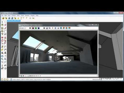 vray sketchup tutorial lynda irradiance in vray for sketchup youtube