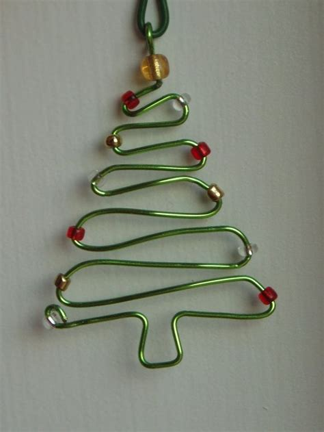 7 easy diy wire ornaments for christmas tree