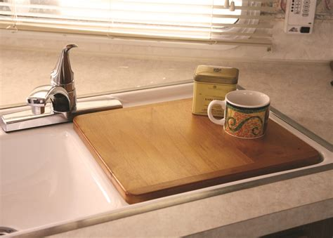 Rv Kitchen Sink Covers Camco Oak Accents Rv Sink Cover 13 Quot X 15 Quot Wide Camco Rv Kitchen Cam43431