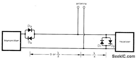 diode bridge tr switch four diode tr switch basic circuit circuit diagram seekic