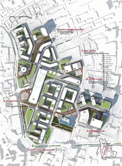 urban design  barbican london urban design plan