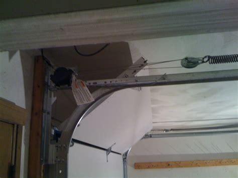 Low Profile Garage Door by Liftmaster Low Profile Garage Door Opener Wageuzi