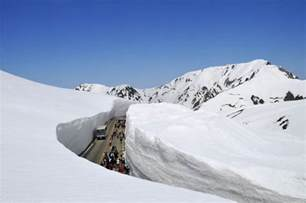 the 65 foot 20m snow corridor in japan 171 twistedsifter