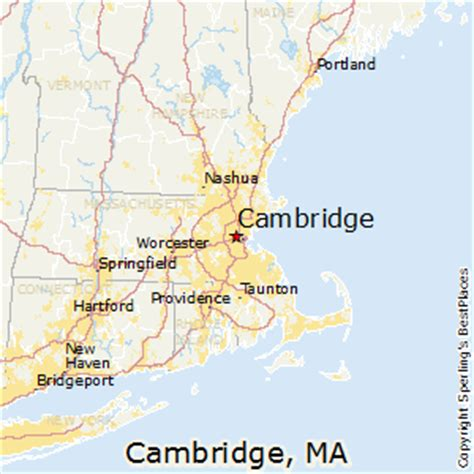 Average Rent Cost best places to live in cambridge massachusetts