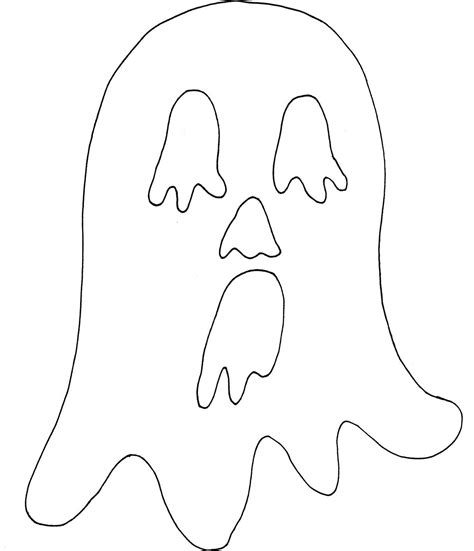 printable paper ghost spooky halloween mask printables