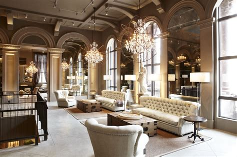 home design store boston a tour of the restoration hardware flagship store in