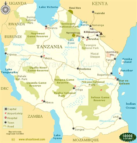 map of tanzania tanzania map of arusha images