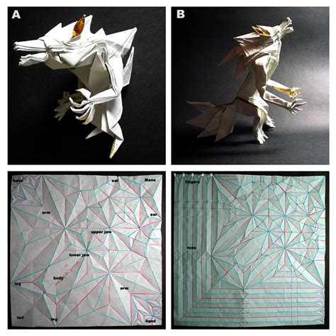 how to make complicated origami origami i werewolves