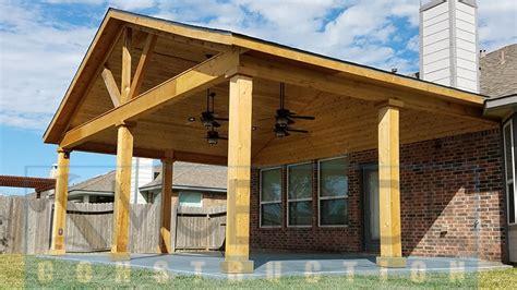 popiak cedar gable patio cover project houston tx