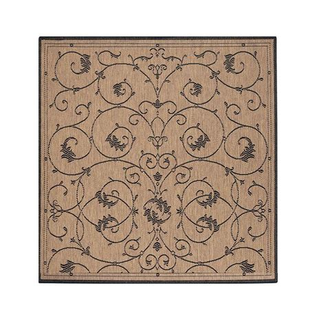 home decorators collection tendril cocoa 8 ft 6 in