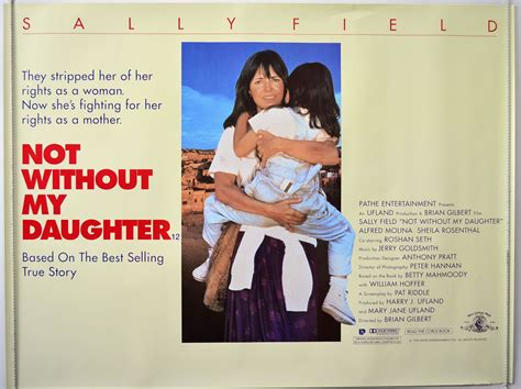 not without my daughter not without my daughter original cinema movie poster from pastposters com british quad posters