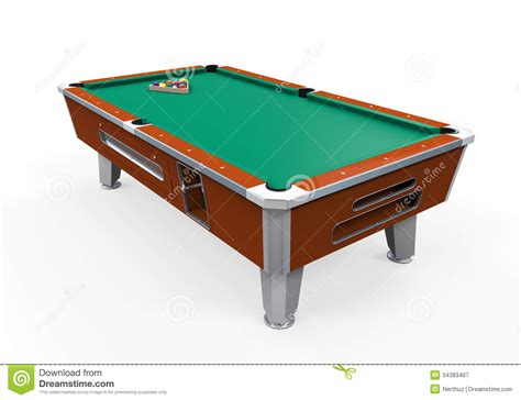 Free Pool Table by Billiard Table Royalty Free Stock Photography Image
