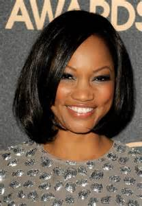 black american hair style on a circle to school bob hairstyles for black women with round faces