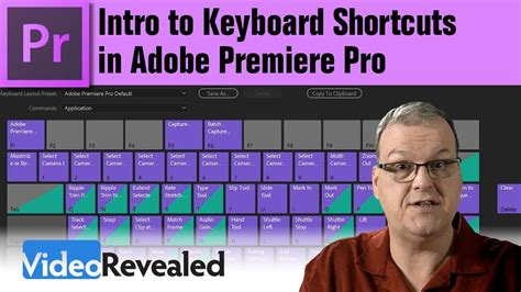 adobe premiere pro keyboard shortcuts intro to keyboard shortcuts in adobe premiere pro youtube