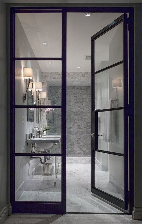 how to see through bathroom glass quot white room quot interior bathroom see through glass door