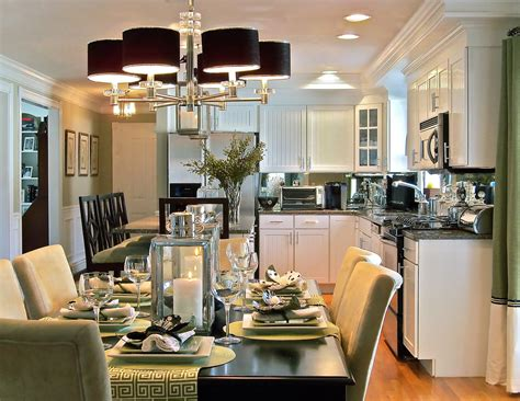 Open Kitchen Dining Room Informal Dining Rooms Right The Kitchen A Change Of Space