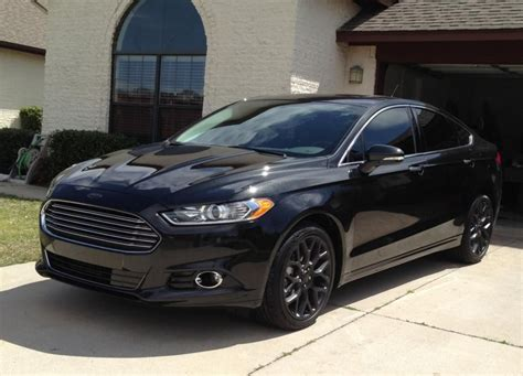 awesome  ford fusion blacked  kunchen