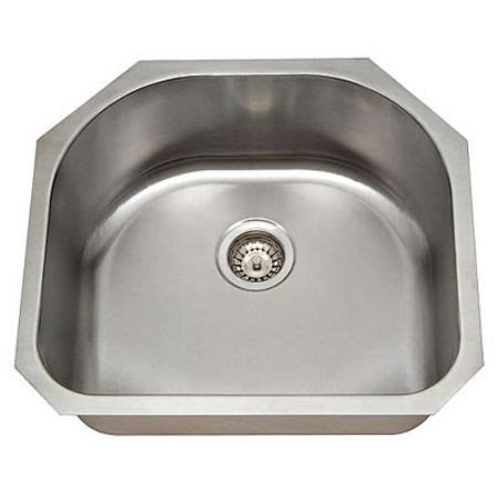 L Shaped Kitchen Sinks Stainless Steel Undermount Sink 18 Single Bowl 19 X 20 X 9 Pl 863 Kitchen Cabinets