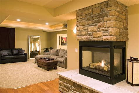 Basement Fireplace Ideas wedgewood basement finished basement company