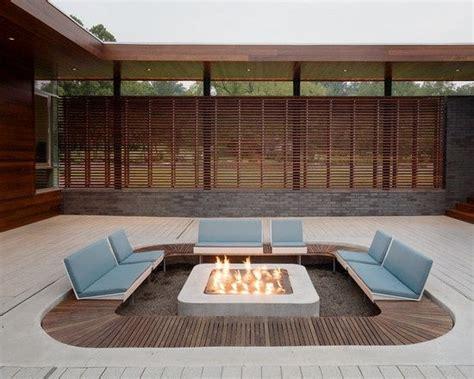 Mid Century Fire Pit Mid Century Modern Pinterest Modern Outdoor Pit