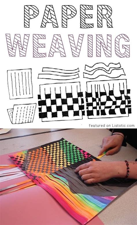 Paper Arts And Crafts For Adults - 25 best ideas about paper weaving on