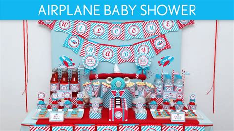 Airplane Baby Shower Ideas by Airplane Baby Shower Ideas Airplane S1