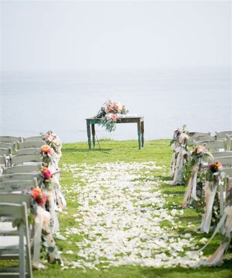 wedding inspiration an outdoor ceremony aisle wedding bells 137 best images about wedding ceremony ideas and