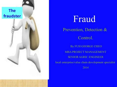 Mba Fraud Management by Fraud Prevention Detection Fuh 12