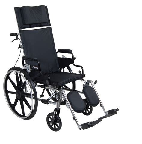 recliner wheel chair viper plus gt full reclining wheelchair drive medical