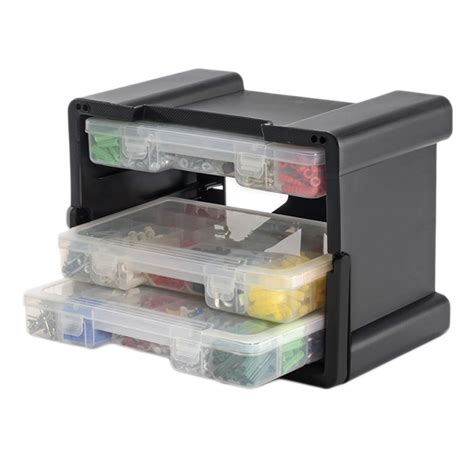 Portable Drawer Storage by Keter 4 Drawer Organizer Portable Handled Plastic