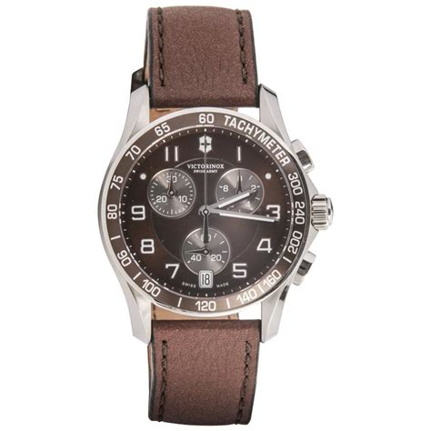 Swiss Army Chrono Brown victorinox swiss army stainless steel chrono brown