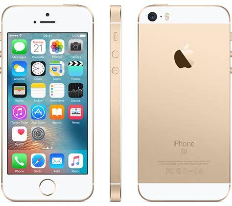 apple iphone se 32 gb gold deals pc world