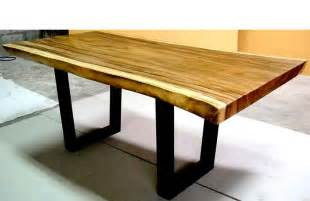 Balinese Dining Table Large Wood Dining Table Curve Bali Indonesia