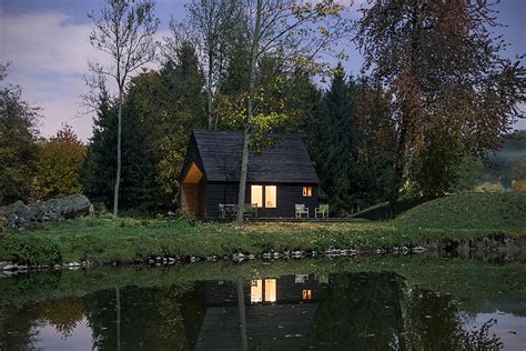 Woodland Cabins by Woodland Cabin By De Rosee Sa Architects Hiconsumption