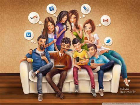 imagenes de personas en redes sociales si las redes sociales fueran personas