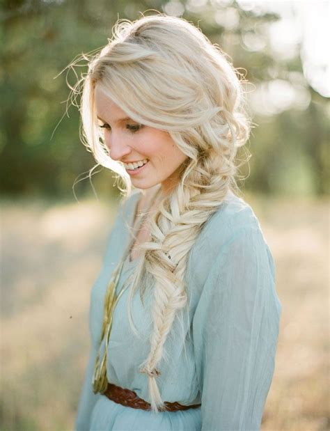fishtail braid on the side fishtail summer side 26 pretty braided hairstyle for summer popular haircuts