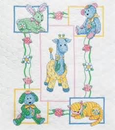 dimensions sted cross stitch kit baby for baby