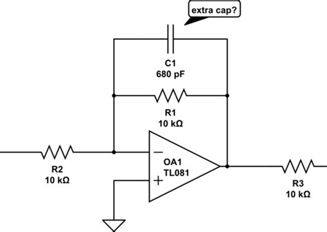op feedback resistor values op understanding op circuits with capacitors in the feedback path electrical