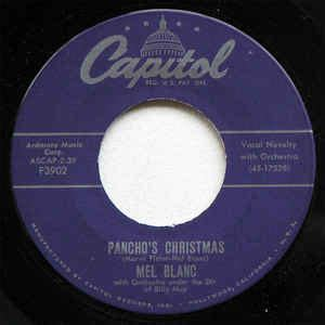 mel blanc christmas blogspot mel blanc pancho s the hat i got for is vinyl at discogs