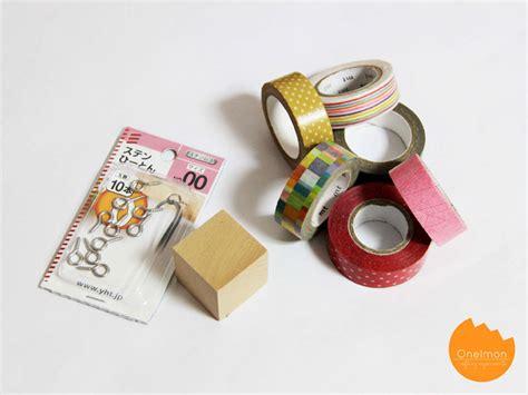 Selotip Masking 6 Mm diy tutorial washi rubik necklace onelmon